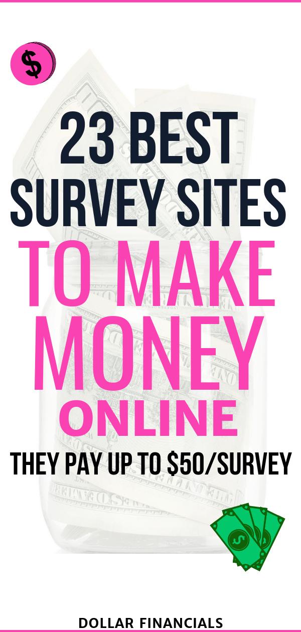 23 Best Survey Sites For Money: Online Surveys That Pay Cash